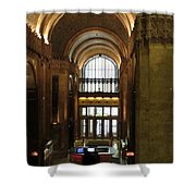 Lobby Of Woolworth Building Shower Curtain