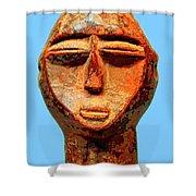 Lobi Figure Shower Curtain