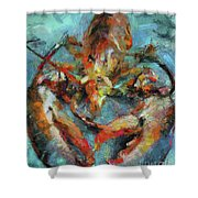 Lobster Shower Curtain