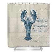 Lobster - J122129185-1211 Shower Curtain