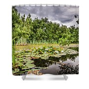 Local Nature Reserve At East Cramlington Shower Curtain