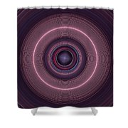 Local Subspace Vibrations Shower Curtain
