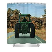Local Traffic 907 - Painting Shower Curtain