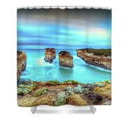 Loch Ard Gorge Pre Dawn Shower Curtain
