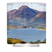 Loch Arklet And The Arrochar Alps Shower Curtain