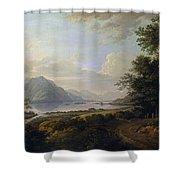 Loch Awe. Argyllshire Shower Curtain