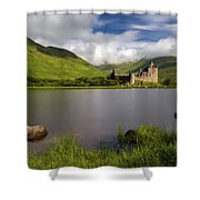 Loch Awe Stones Shower Curtain