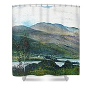 Loch Dun Luiche Donegal Ireland 2916 Shower Curtain