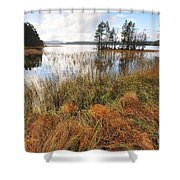 Loch Garten Shower Curtain