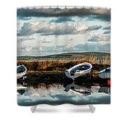 Loch Harray Dawn Iv Shower Curtain