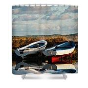 Loch Harray Dawn V Shower Curtain