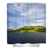 Loch Katrine Scotland Shower Curtain