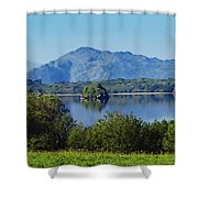 Loch Leanne Painting Killarney Ireland Shower Curtain