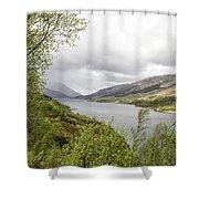Loch Levern Shower Curtain