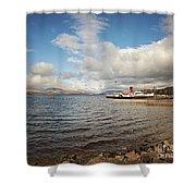 Loch Lomond Landscape Shower Curtain