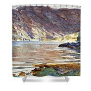 Loch Moidart Shower Curtain
