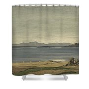 Loch Nell, 1930-1935, By Sir David Cameron Shower Curtain