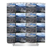 Loch Ness In Squares Shower Curtain