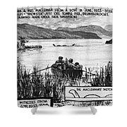 Loch Ness Monster, 1934 Shower Curtain