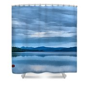 Loch Rannoch Shower Curtain