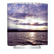 Loch Raven Sunrise Shower Curtain