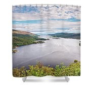 Loch Riddon And Isle Of Bute Shower Curtain