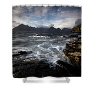 Loch Scavaig And The Cuillin Shower Curtain