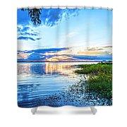 Lochloosa Lake Shower Curtain