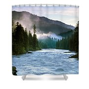 Lochsa River Shower Curtain