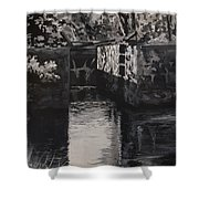 Lock 17 Shower Curtain