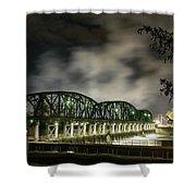 Lock 8 Erie Canal Shower Curtain