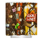 Lock Shower Curtain