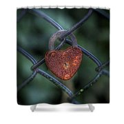 Lock Of Love Shower Curtain