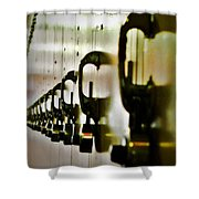 Lock Up Shower Curtain
