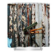 Locked Door Shower Curtain