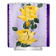 Locked In Color Shower Curtain