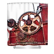 Locked In History Shower Curtain by Stephen Mitchell