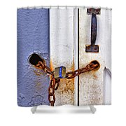 Locked Out Shower Curtain