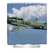 Lockheed F-80  Shower Curtain