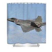 Lockheed Martin F-22 Raptor, 2016 Shower Curtain