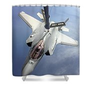 Lockheed Martin F-35 Lightning II, 2016 Shower Curtain