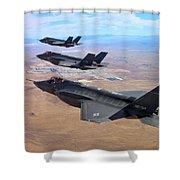 Lockheed Martin F-35 Lightning II Shower Curtain