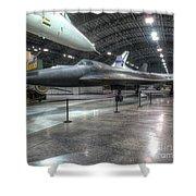 Lockheed Yf-12a Shower Curtain
