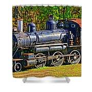 Locomotive 201 Shower Curtain