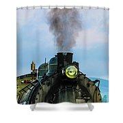 Locomotive 26 Steamtown  Shower Curtain