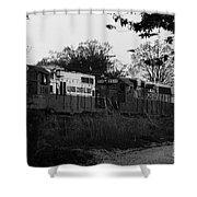 Locomotive 8241 Shower Curtain
