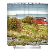 Lofoten Cabins 2 Shower Curtain