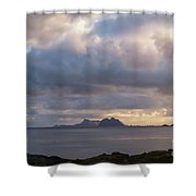 Lofoten Sunset 4 Shower Curtain