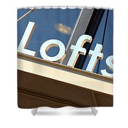 Lofts Shower Curtain