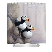 Lofty View Shower Curtain